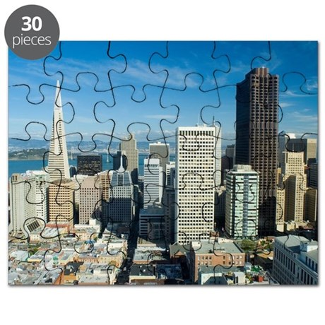 sunny downtown san francisco Puzzle
