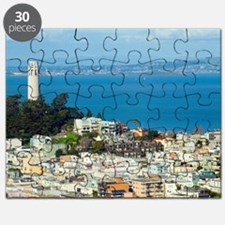 Telegraph Hill and Coit Tower Puzzle