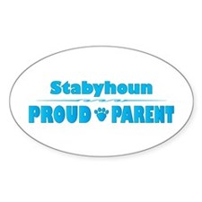 Staby Parent Oval Decal