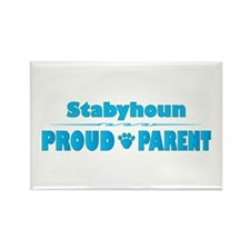 Staby Parent Rectangle Magnet