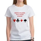 Bridge player Women's T-Shirt