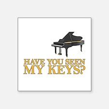 Have you seen my keys? Sticker