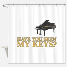 Have you seen my keys? Shower Curtain