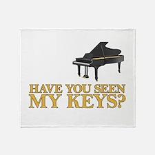 Have you seen my keys? Throw Blanket