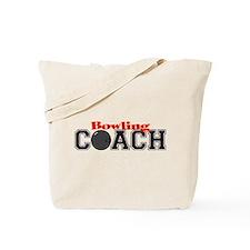 Bowling Coach Tote Bag