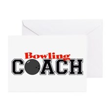 Bowling Coach Greeting Cards (Pk of 10)