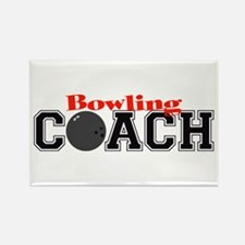 Bowling Coach Rectangle Magnet