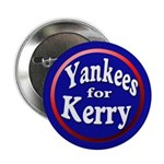 Yankees for Kerry Button