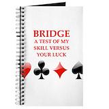 Bridge player Journals & Spiral Notebooks