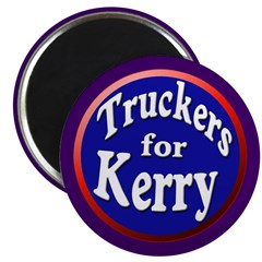 Truckers for Kerry Magnet (10 pack)