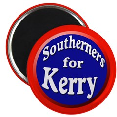 Southerners for Kerry Magnet (100 pack)