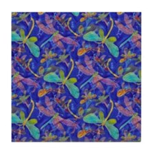 Dragonfly Duo Tile Coaster