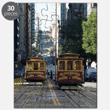 california street cable car Puzzle