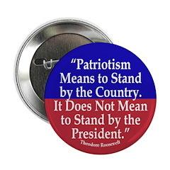 What Patriotism Means (Quote) Button