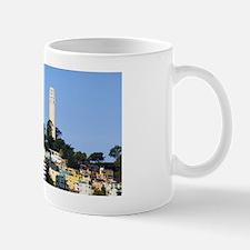 Coit Tower blue sky Mug