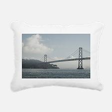 bay bridge Rectangular Canvas Pillow