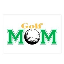 Golf Mom Postcards (Package of 8)