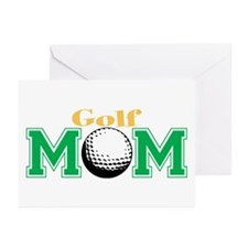 Golf Mom Greeting Cards (Pk of 10)