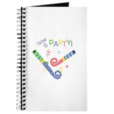 Time To Party Journal