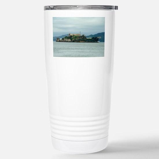 Alcatraz Island san fra Stainless Steel Travel Mug