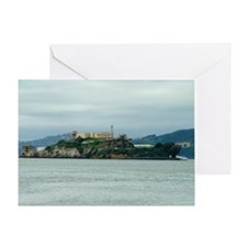 Alcatraz Island san francisco Greeting Card