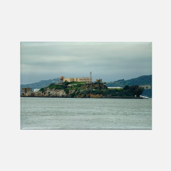 Alcatraz Island san francisco Rectangle Magnet