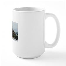 Alcatraz Island and gull Mug