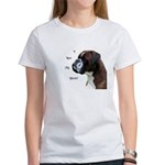 I Love My Boxer Women's T-Shirt