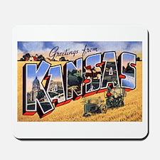 Kansas Greetings Mousepad