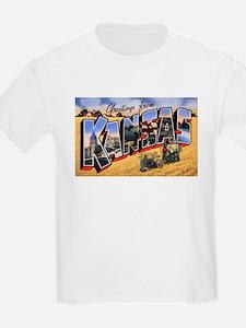 Kansas Greetings (Front) T-Shirt