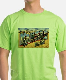 Kansas Greetings (Front) T-Shirt