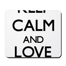 Keep Calm and Love Antigua Mousepad