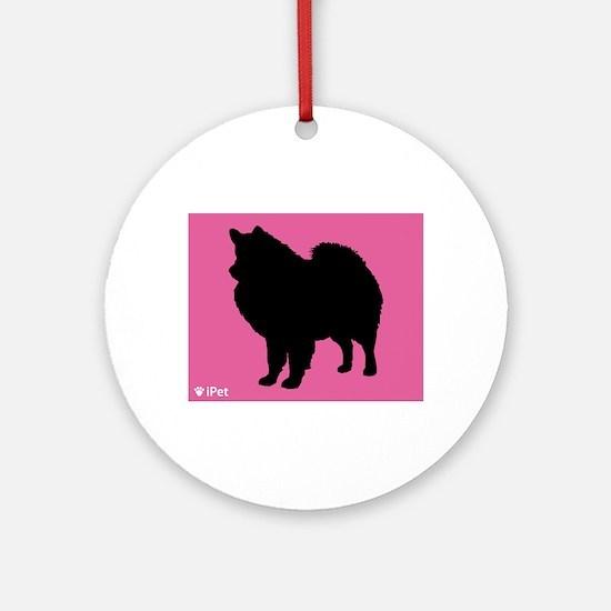 Eskimo iPet Ornament (Round)