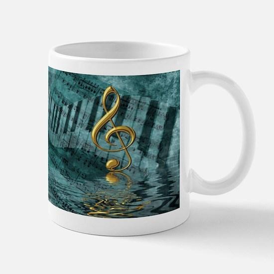 Treble Clef Composition Mug