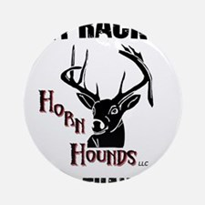 Horn Hounds Ornament (Round)
