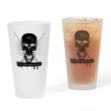 Silence is Consent Drinking Glass
