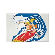 SURFER GIRL [blonde] Magnets