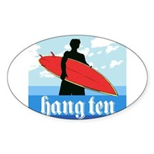 HANG TEN Decal