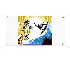 VINTAGE SURFIN Banner