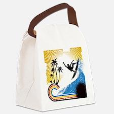 VINTAGE SURFIN Canvas Lunch Bag