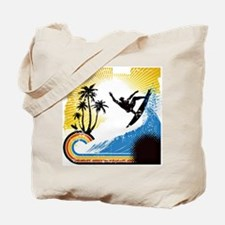 VINTAGE SURFIN Tote Bag