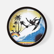 VINTAGE SURFIN Wall Clock
