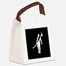 SURFER, DUDE Canvas Lunch Bag
