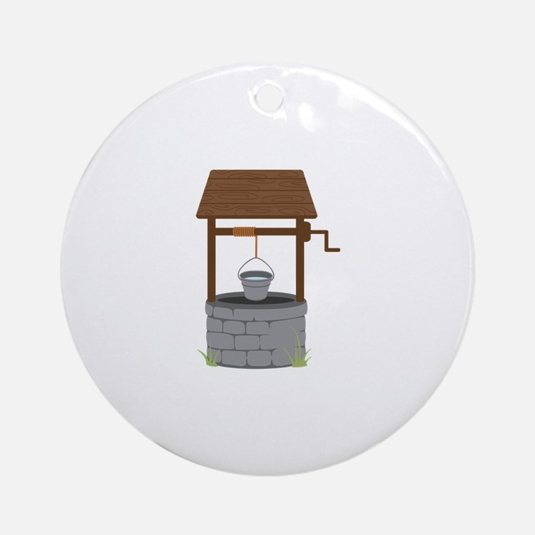 Water Well Ornament (Round)