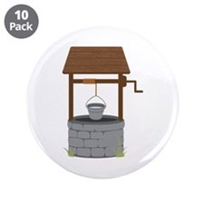 """Water Well 3.5"""" Button (10 pack)"""
