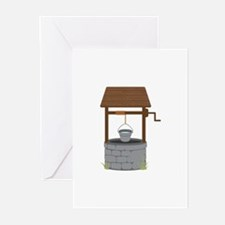 Water Well Greeting Cards