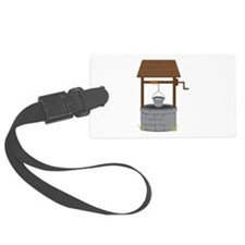 Water Well Luggage Tag