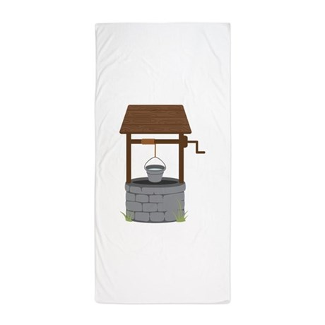 Water Well Beach Towel