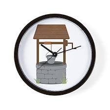 Water Well Wall Clock