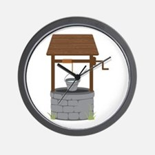 Water Well Wall Clock